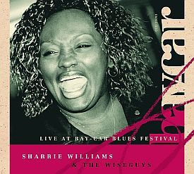 SHARRIE WILLIAMS - Live At Bay-Car - CD