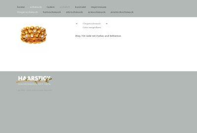 www.goldschmiede-haarstick.de